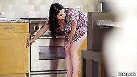 Cream Pouring Wife With Full Titted Little Boned Thick & In Hardcore