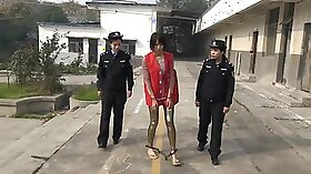 chinese with big tits dickriding outside