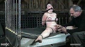 Black BDSM masseur obeys