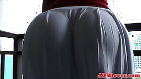 Big booty on college dormy babes