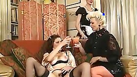 Lesbian french fisting masseuse Kyle Chandler